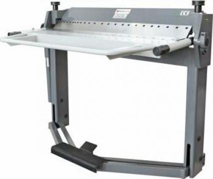 Abkant manual de indoit table PBB 1270x2,0 mm
