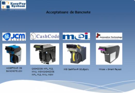 Acceptoare de bancnote