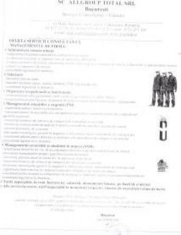 Administrare personal si salarizare / SSM / PSI