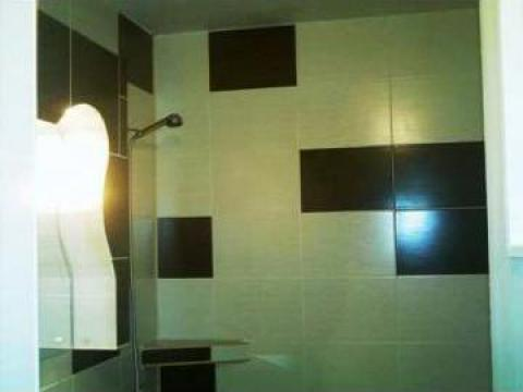 Amenajari interioare baie, placare, montaj gresie faianta