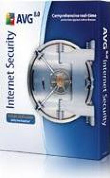 Antivirus AVG Internet security 1 licenta valabila 1 an