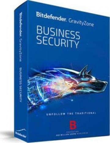Antivirus Bitdefender GravityZone Business Security - 1 an