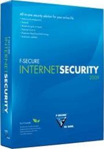 Antivirus F-Secure Internet Security 2009 pt 3 calculatoare