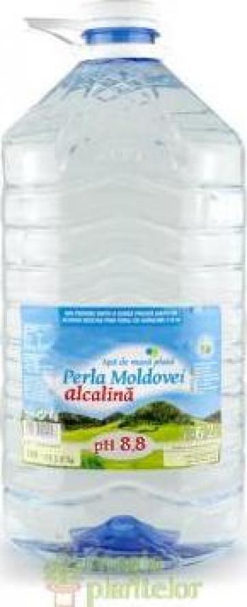Apa natural alcalina 6.2 L PH 8.8 - Perla Moldovei