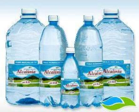 Apa naturala, natural alcalina cu pH 8,8 Alcalinia