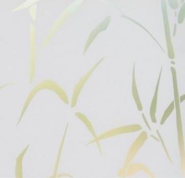 Autocolant D-C-Fix Vitraliu static Bambus 45cmx1.5m 338-0023