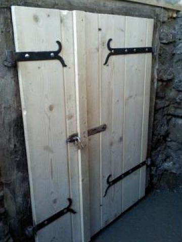 Balamale fier forjat pentru usi si porti