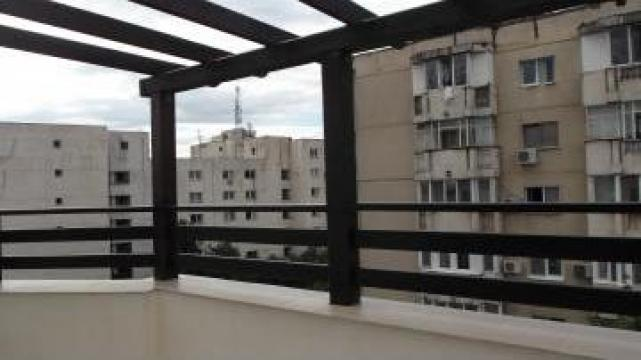Balustrade din lemn rasinos - pentru exterior