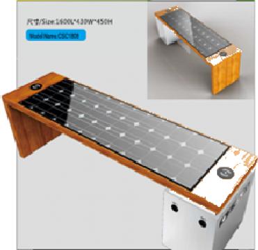 Banca Smart cu panou solar CSC1808
