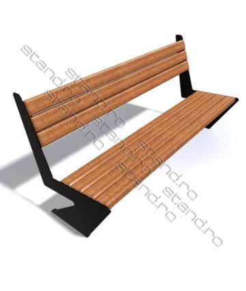 Banca parc lemn 0957