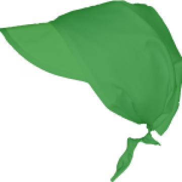 Bandana verde pentru bucatari