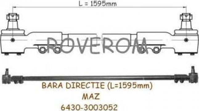 Bara directie Maz (L=1595mm)