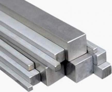 Bara patrata din aluminiu
