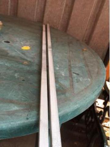 Bara patrata inox 304 15x15x2000, 3.7 kg