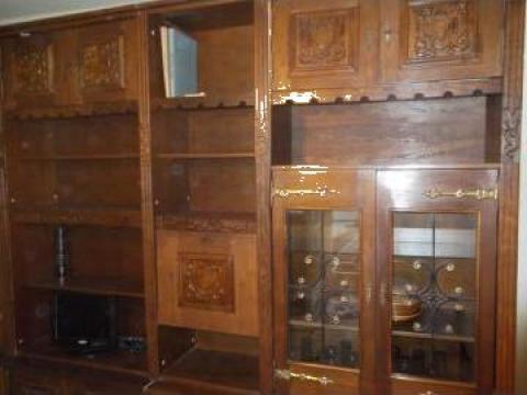 Biblioteca de stejar