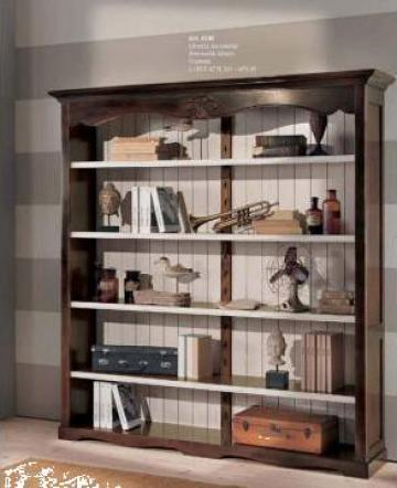Biblioteca lemn masiv 4340