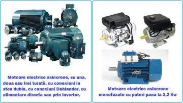 Bobinari, rebobinari, reparatii motoare electrice Timisoara