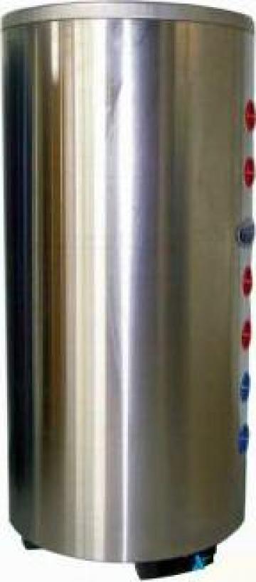 Boiler inox 100 litri cu doua serpentine