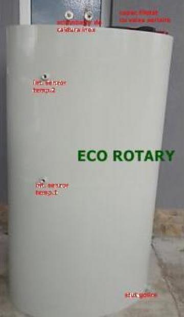 Boilere, puffere ovale 2000 litri cu o serpentina