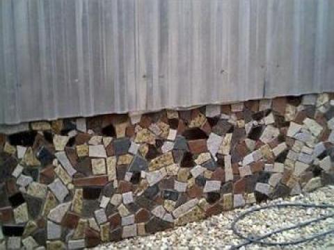 Bordura din marmura sau granit decoratiuni exterioare