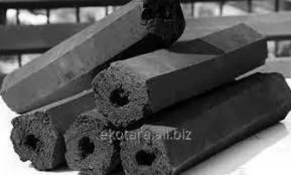 Brichete de carbune inlocuitor lemne de foc