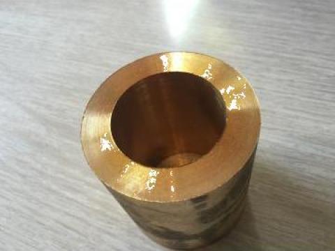 Bucsa bronz ebosata 49x75x82, aliaj-CuSn12, greutate: 1.8 kg