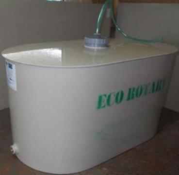 Butoaie de vin elicoidale inlocuitor plastic inox