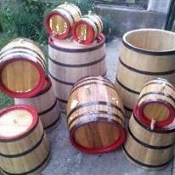 Butoaie din lemn de stejar, salcam sau dud