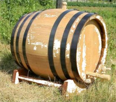 Butoaie din lemn de stejar