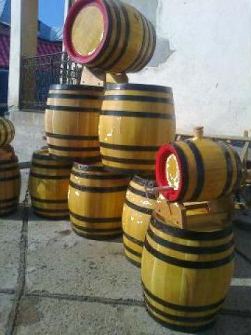 Butoaie lemn 10-50 litri