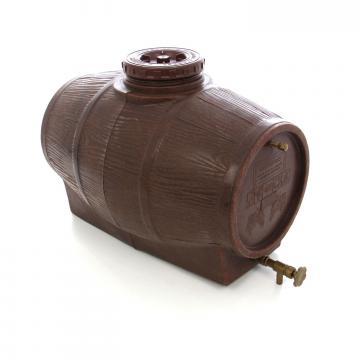Butoi plastic alimentar, pentru vin, cu capac (50l-500l)