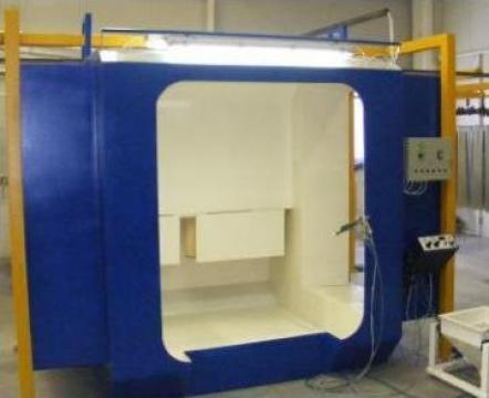 Cabina de vopsire electrostatica