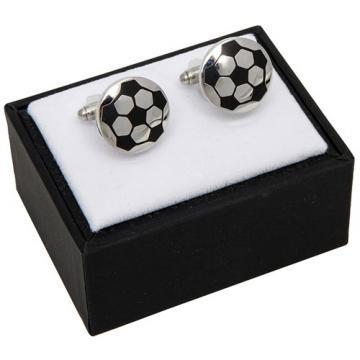 Cadou pentru barbati, butoni minge fotbal DS696503