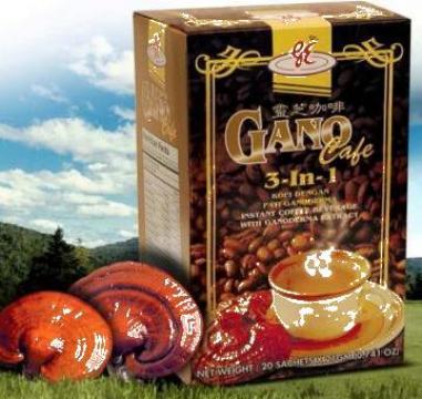 Cafea Gano cafe 3 in 1 Ganoderma Lucidum