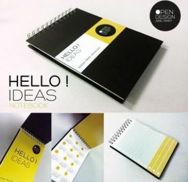 Caiet Notes personalizat