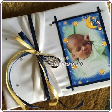 Caiet de amintiri botez personalizat Guestbook