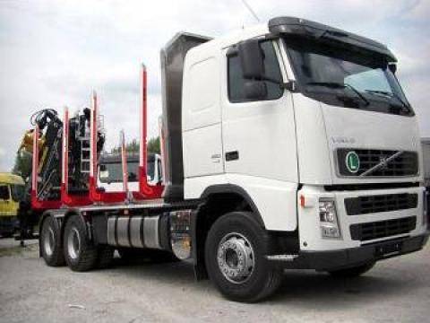 Camion Volvo FH 12 480, 6x4 transport busteni