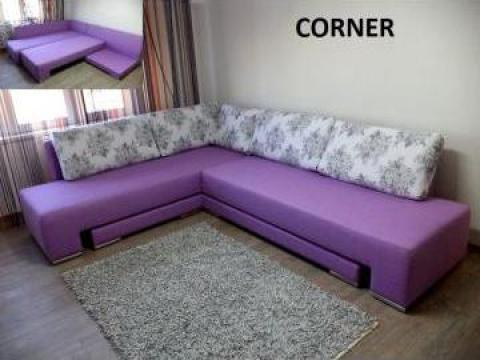 Canapea coltar extensibila