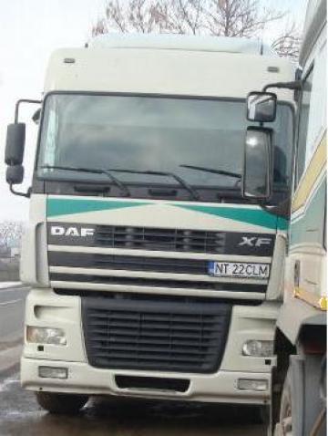 Cap tractor DAF XF 95 ( an 2003 ) + semiremorca
