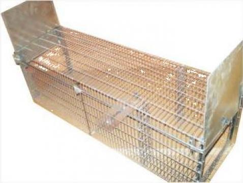 Capcana cu 2 intrari / 140/40/h=50 cm (vulpe)