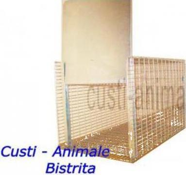 Capcana ecologica pentru animale 75x40x40 cm