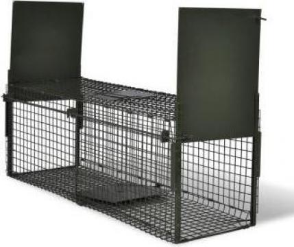 Capcana pentru animale cu 2 intrari