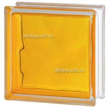 Caramida sticla galben