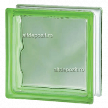 Caramida sticla verde