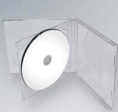 Carcasa CD Dubla Transparenta
