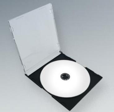 Carcasa CD Slim spate negru