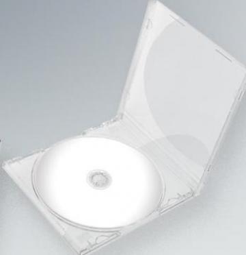 Carcasa CD - Transparent