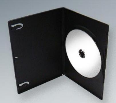 Carcasa DVD Slim neagra