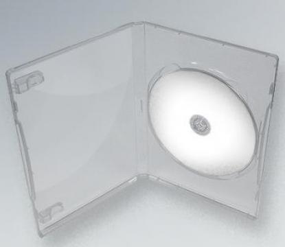 Carcasa DVD Transparenta standard