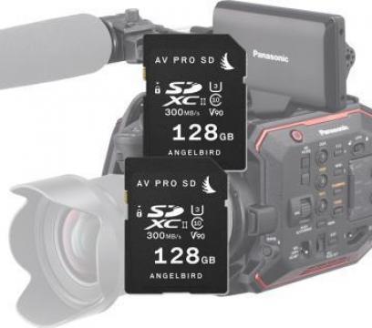 Card memorie Angelbird AVP MP-EVA1 match pack 2 X 128Gb